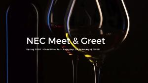NEC Meet & Greet @ Goodwine Bar